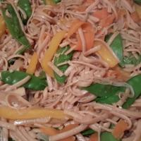 Simple Vegetable Lo Mein