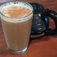 Cinnamon Banana Coffee Milkshake