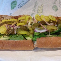 Spicy Subway Veggie Delite