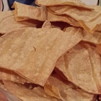 Easy Oil-Free Baked Corn Tortilla Chips