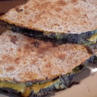 "Black Bean ""Cheese"" Quesadillas"
