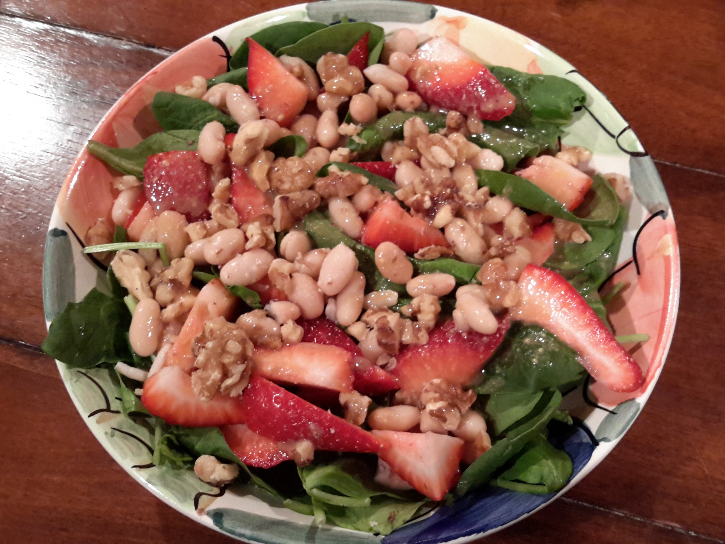 Whole Foods Strawberry Spinach Salad