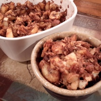 Baked Apple & Banana Oatmeal