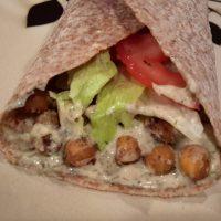 Chickpea Shawarma Wraps