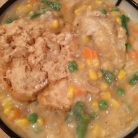 Mixed Veggies Pot Pie