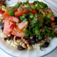Texas Caviar Rice & Beans