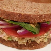 No-Tuna Salad Sandwich