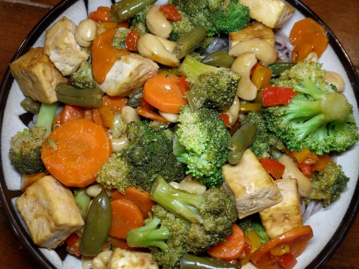 Ginger Teriyaki Tofu Stir-Fry