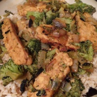 Pineapple Tempeh Teriyaki Stir-Fry