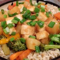 Sweet & Sour Pineapple Stir-fry