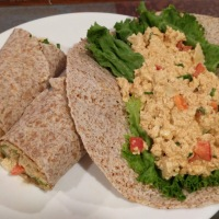 Thai Tofu Wraps