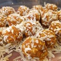 Sweet Coconut Carrot Balls