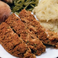 """Holiday Stuffing """"Meat""""loaf"""